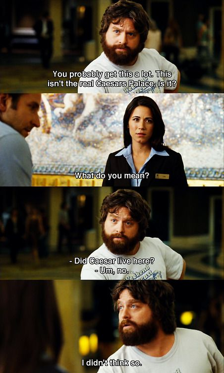 Alan in the Hangover <3 bad movie but love Alan he is to funny