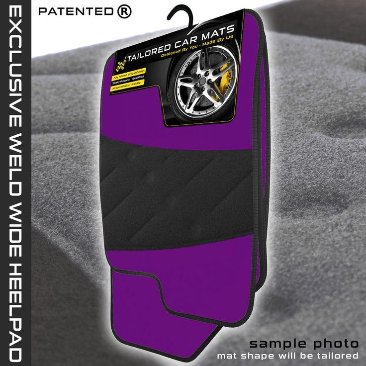 Fiat Panda 2003 2012 Tailored Purple Carpet Car Mats