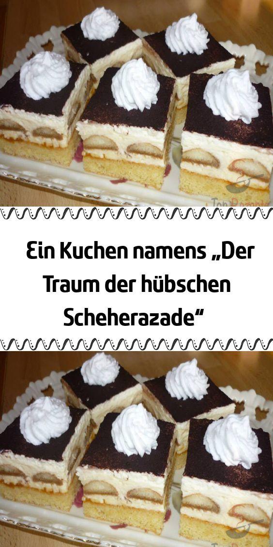 """Ein Kuchen namens """"Der Traum der hübschen Scheherazade"""""""