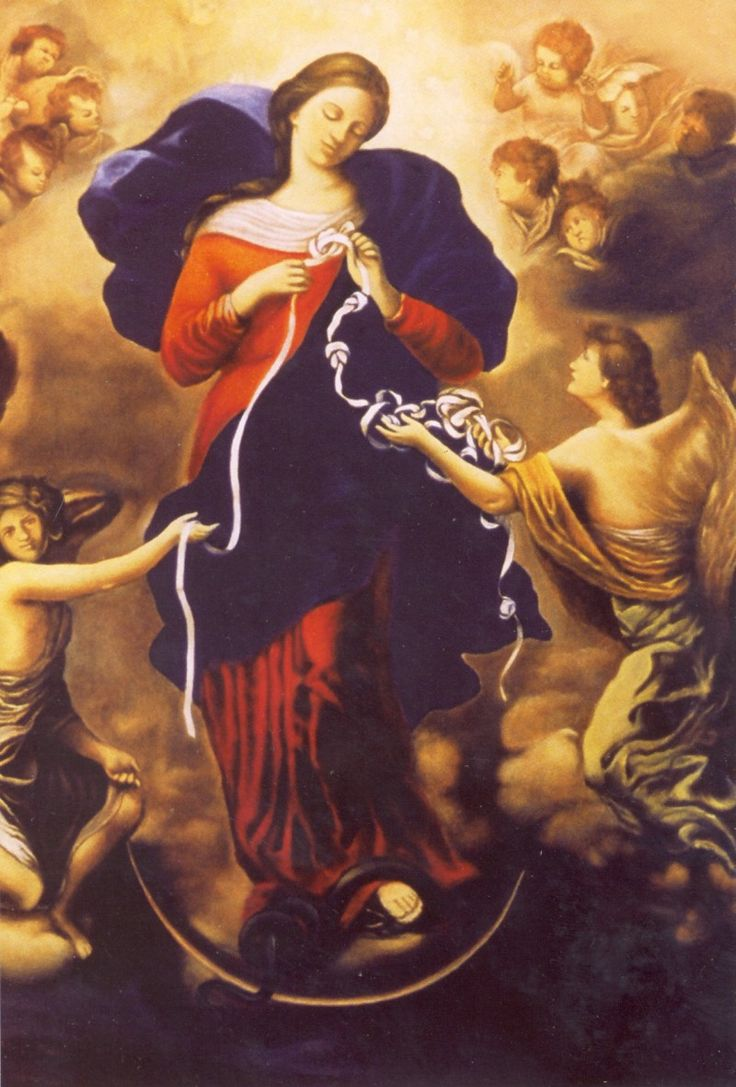 Pope Francis' prayer to Our Lady, Untier of Knots: Knocklyon Parish, St. Colmcille's Church, Ireland