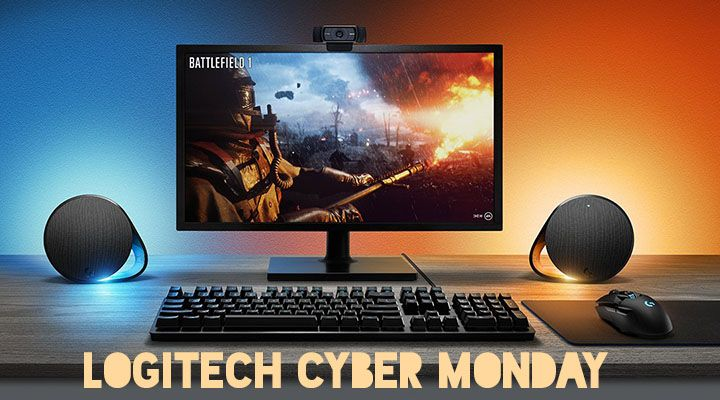 Logitech Cyber Monday Deals Pc Speakers Logitech Pc Accessory