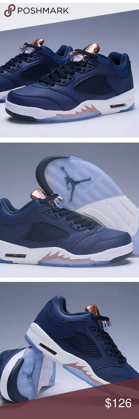 Air Jordan 5 Retro Mens Basketball shoes Dark blue DEADSTOCK (BRAND NEW IN BOX, NEVER WORN)  ★★★FULL Size 7-13 ALL COLOR★★★  ★★★FOR A DISCOUNTED PRICE & FASTER CHECKOUT★★★  MESSAGE US AND PURCHASE ON OUR SITE : www.eshoeus.com Phone: +1 (702) 763-5109 Email: Service@shoespx.com Shoes Athletic Shoes