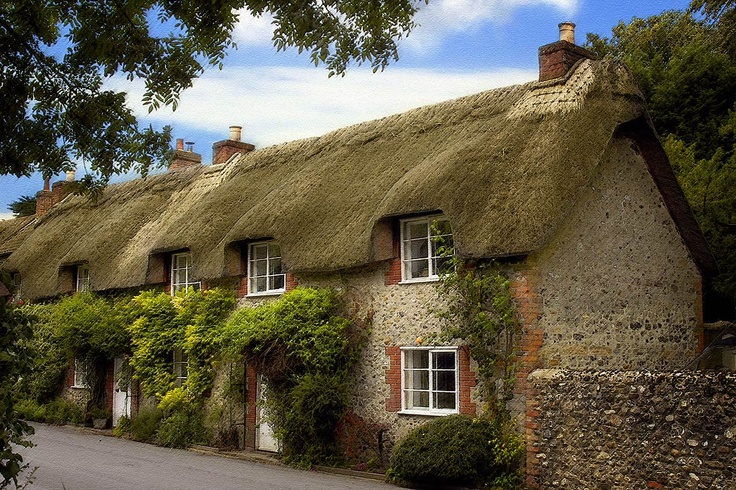 Cerne Abbas, Dorset, England