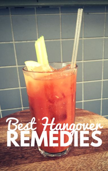 Dr Oz shared some of the best hangover remedies to help ease your aches and pains after a night of too many drinks, including a delicious Virgin Bloody Mary recipe.