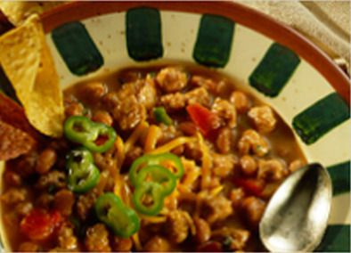 Johnsonville White Bean Chili---I Loooove White Beans! #JohnsonvilleSausageSwap
