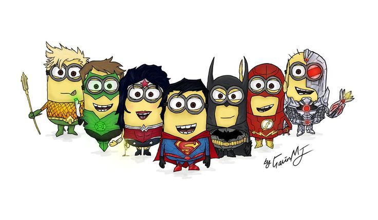 Justice League of Minions by ~GavinTheMJKid