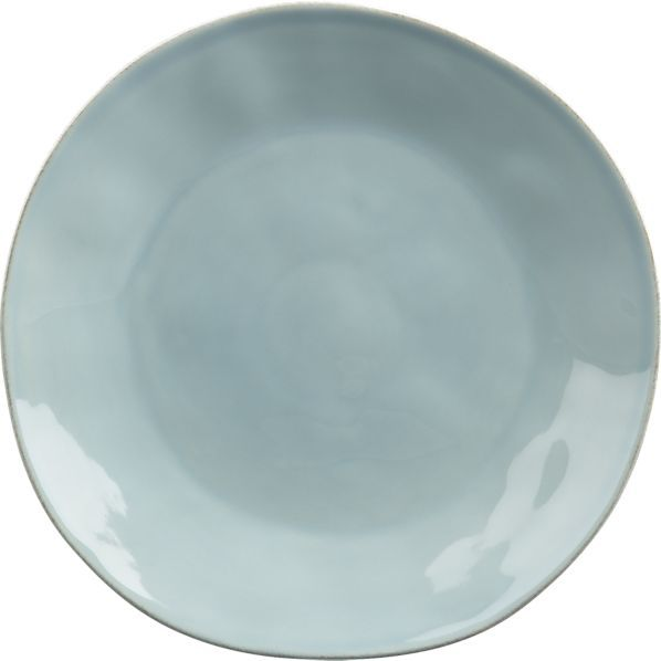 Marin Blue Dinner Plate in Dinnerware Sets | Crate and Barrel - my new dinner plates