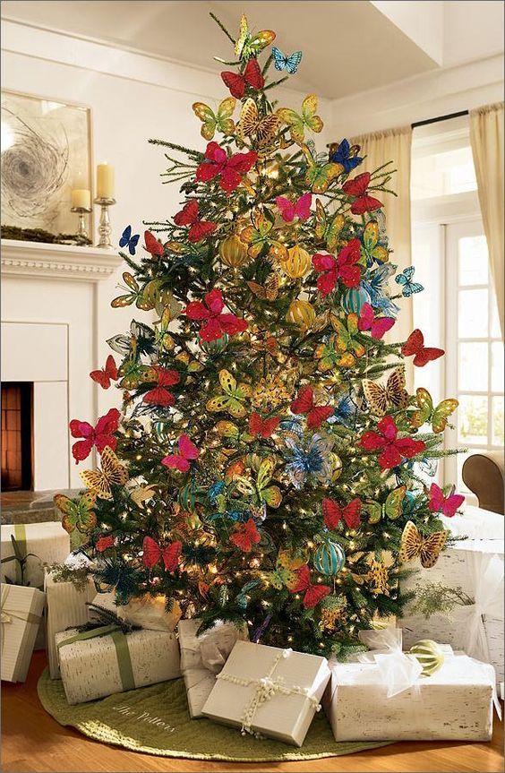 необычное украшение елки фото просьбе участников сообщества
