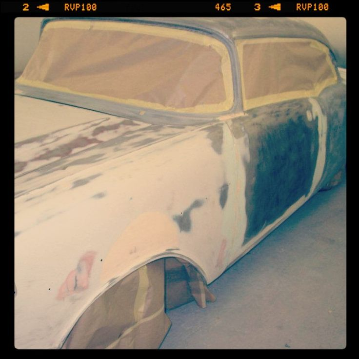 1957 Chevrolet Bel Air - carefully being restored!