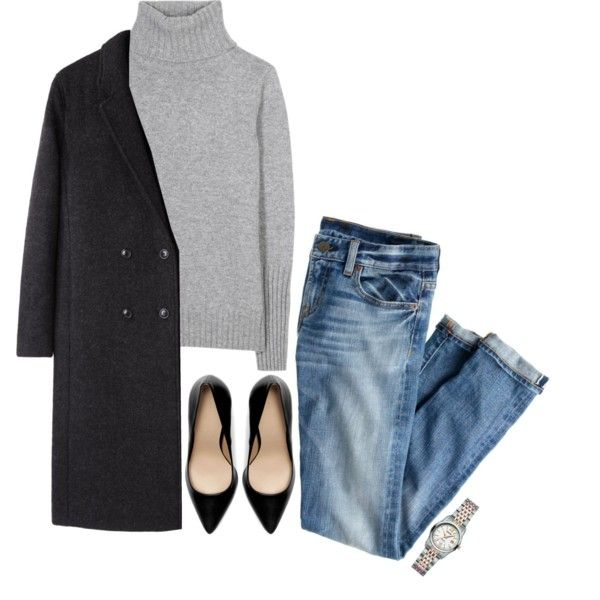 A fashion look from December 2013 featuring Loro Piana sweaters, T By Alexander Wang coats and J.Crew jeans. Browse and shop related looks.