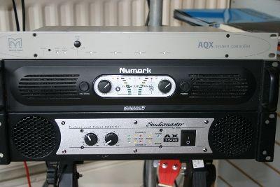 Numark Power Amplifier & Studiomaster AX 3000 Power Amplifiers
