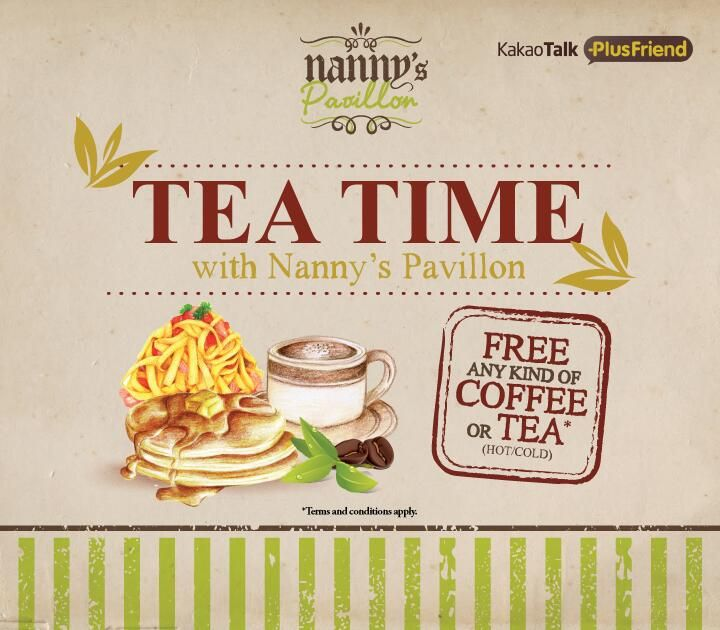 Tea Time with us, yuk! Add Nanny's Pavillon PlusFriend di Kakao Talk Indonesia :)