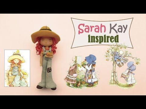 Sarah Kay inspired chibi polymer clay tutorial
