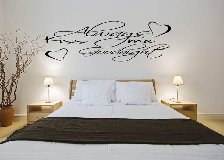 37 best Slaapkamer muursticker images on Pinterest | Bedrooms, A ...