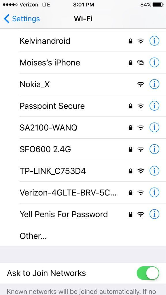So sitting in the airport looking for WIFI...
