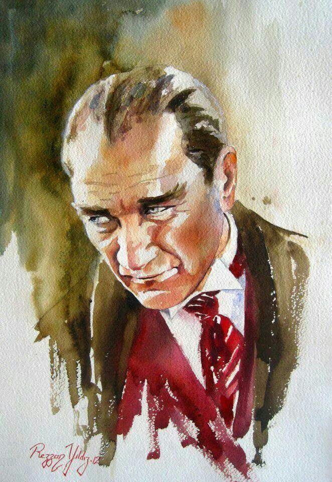 ATATÜRK. Rezzan Yildiz Artist&Painter