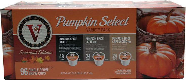 Victor Allens Pumpkin Select Coffee K Cups (Variety Pack of 96) * Tried it! Love it! Click the image. : K Cups