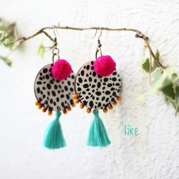 New little rocks earrings