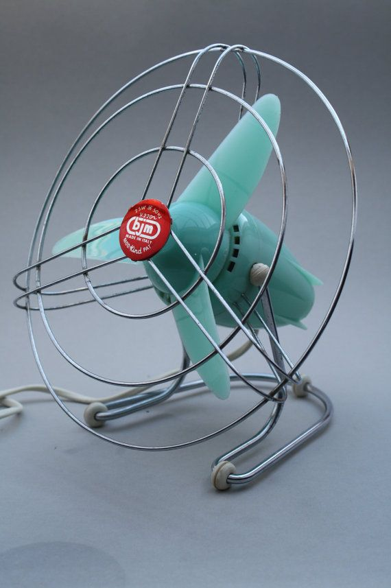 Vintage Fan made by BJM in Italy in the 1960's by RetroMinded, €60.00