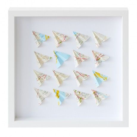 Paper Planes Paper Wall Art