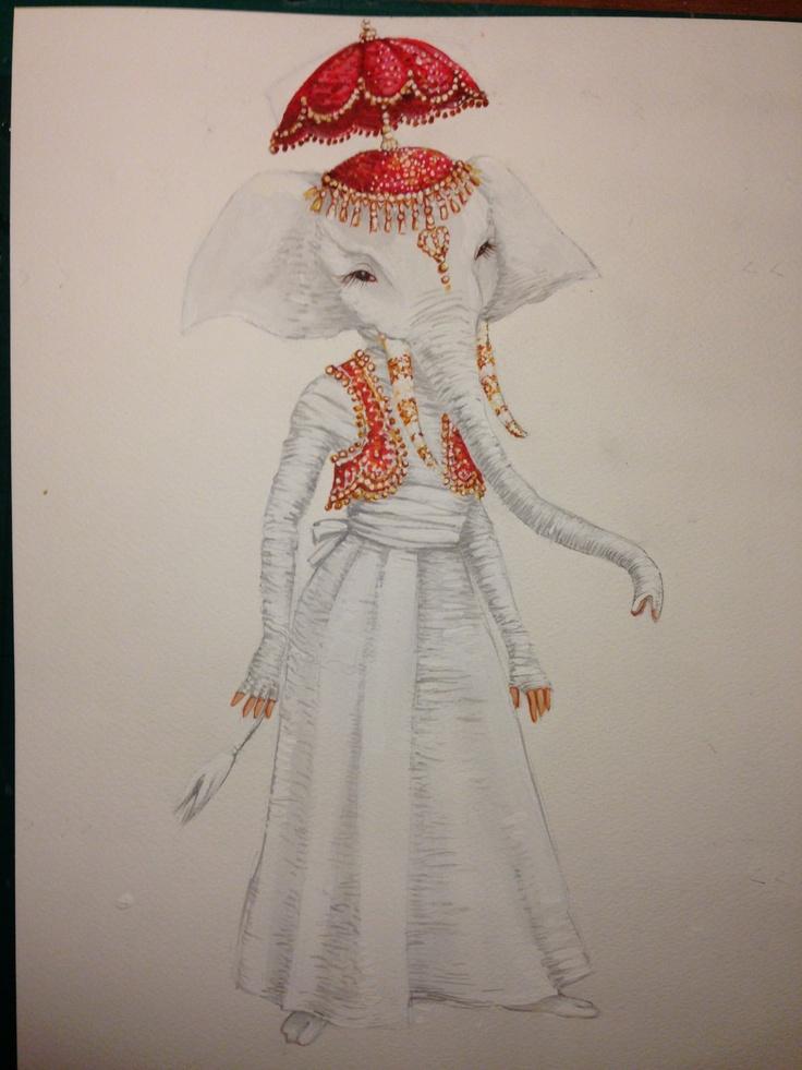 Hamlet the Elephant costume