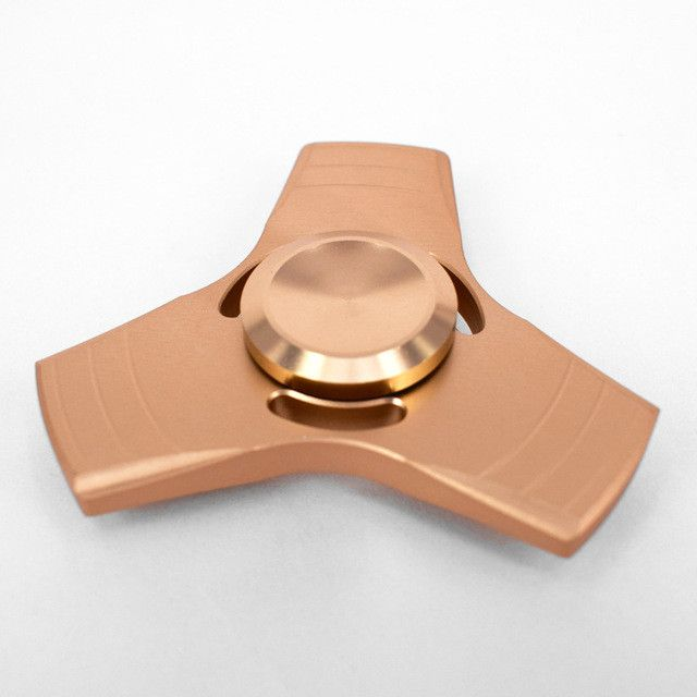 Tri-Spinner Fidget Spinner Metal Fidget