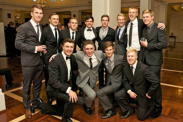2012 School Formal at Old Parliament House