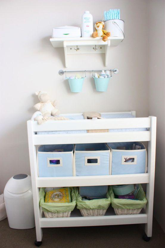 Ideias para organizar o quarto do bebê