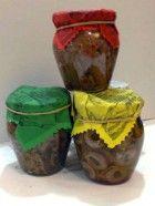 Filetti di acciuga al: peperoncino, capperi, salsa verde