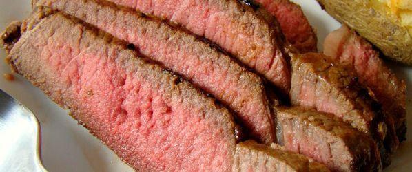 Steakhouse London Broil Recipe - Genius Kitchensparklesparklesparklesparkle