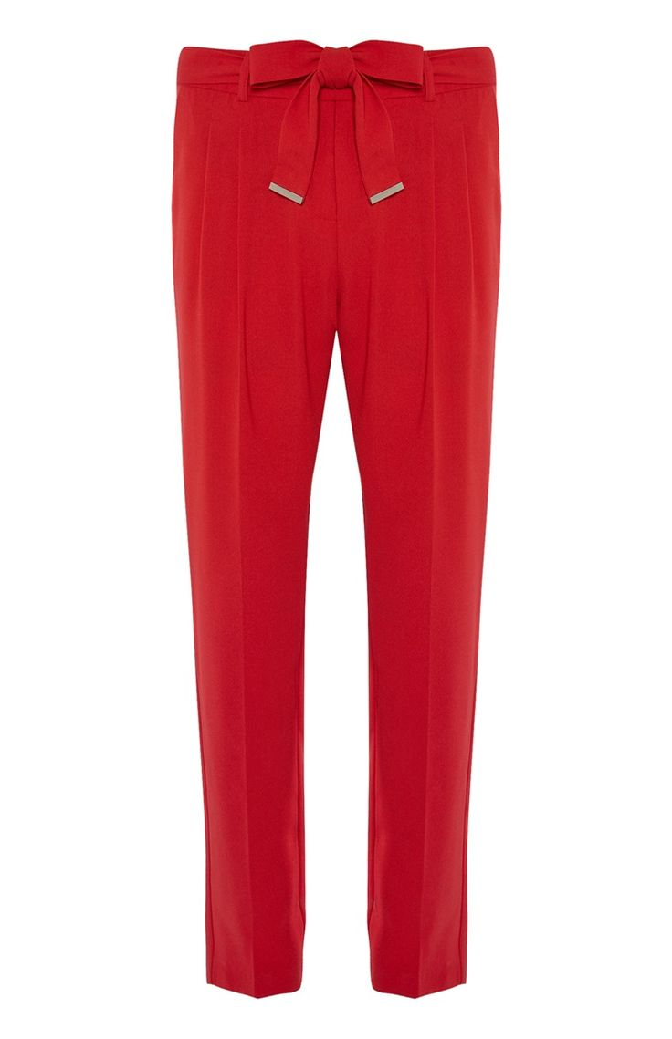 Primark - Red Trousers