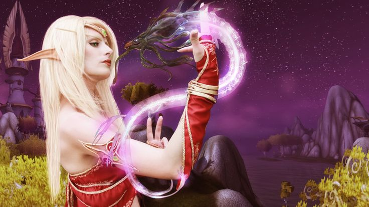 Blood Elf by Niky by TomasLepka