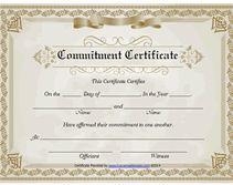 free printable commitment ceremony certificates