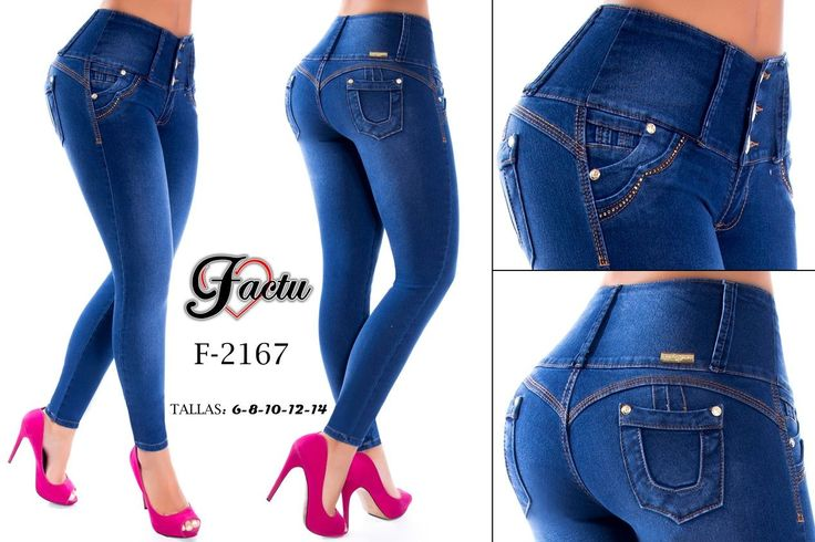 Pantalón colombiano Factu Jeans +Modelos en: http://www.ropadesdecolombia.com/index.php?route=product/category&path=112