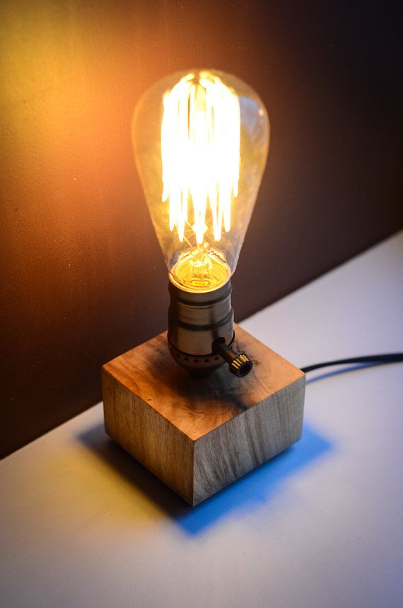 25 best ideas about lampe de chevet bois on pinterest lampes de table de c - Fabriquer table chevet ...