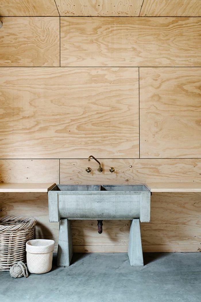 63 Wandpaneele Holz Die Den Raum Ganz Individuell Erscheinen Lassen Wandpaneele Holz Wandpaneele Und Waschtisch Selber Bauen