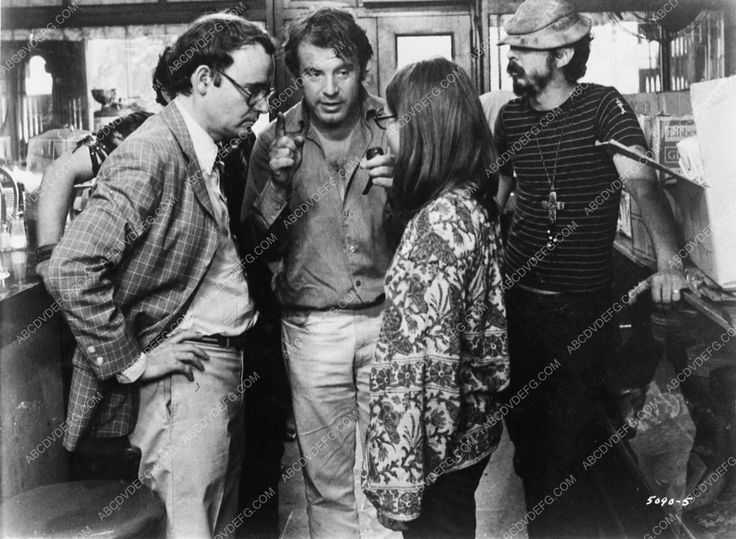 photo Buck Henry Milos Forman behind the scenes film Taking Off 3645-08