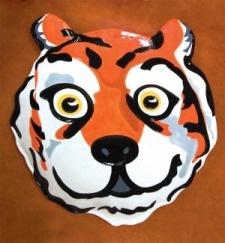 Clemson Mascot Platter