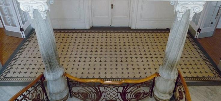 http://www.zahna-fliesen.de/    Zahna historic cement tiles, much cheaper than VIA (about half price)