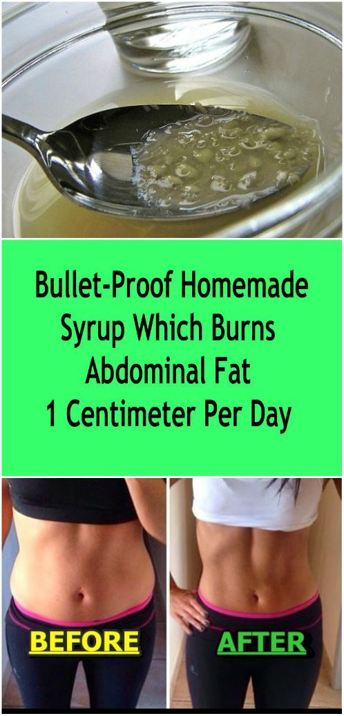 This syrup will help you to eliminate fat and excess of water from your body, and besides it will speed up the brain, improve memory, hearing and eyesight.
