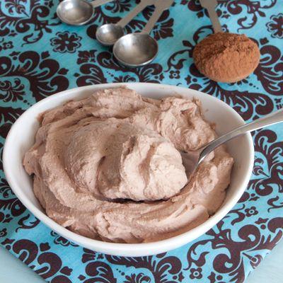 Homemade Chocolate Whipped Cream