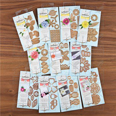 buy spellbinders flower bundle from create and craft usa