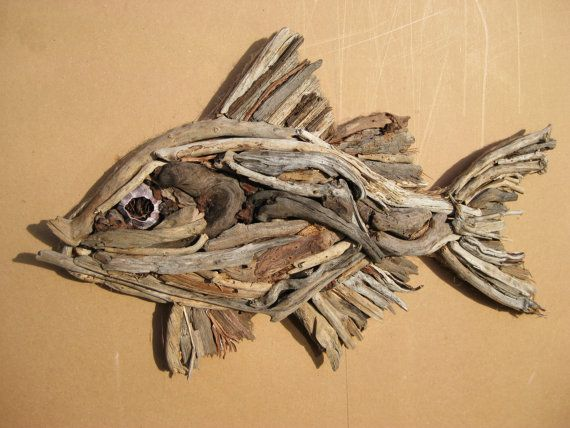 driftwood fish sculpture pinterest beautiful