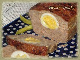 Domowa kuchnia Aniki: Pieczeń rzymska z jajkiem
