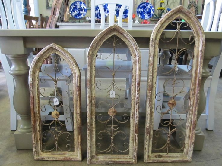 Pinterest Wall Decor Wood Iron And 3 Sizes Available