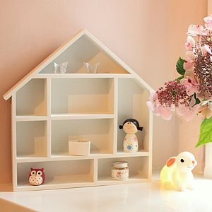 Dolls House Display Cabinet by Little Ella James. Perfect for a little girl's room.