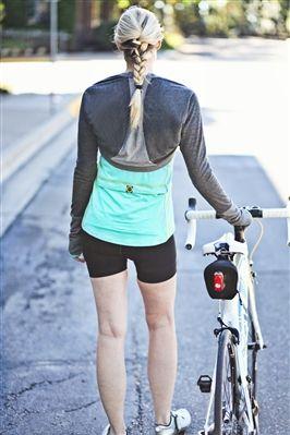 Cool spring ride? I've got just the thing!  [Women's Cycling Merino Wool Bolero]