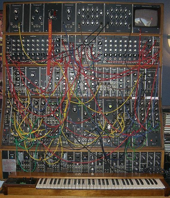 Keith Emerson's Moog synthesizer Marc Bonilla / Keyboard Magazine