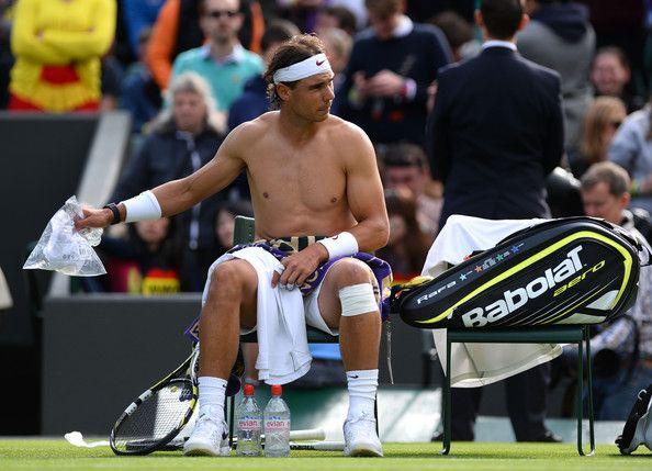 Rafael Nadal Photos: General Views of Wimbledon's Opening Day