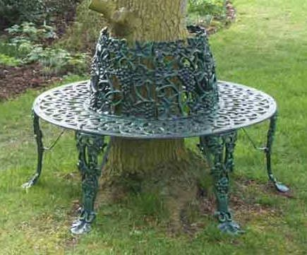 34 best tree benches images on pinterest for Benches that go around trees